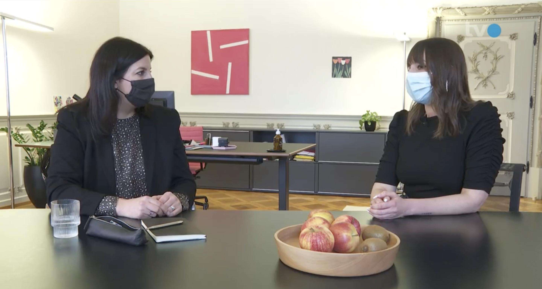 Screenshot TVO Beitrag 50 Jahre Frauenstimmrecht